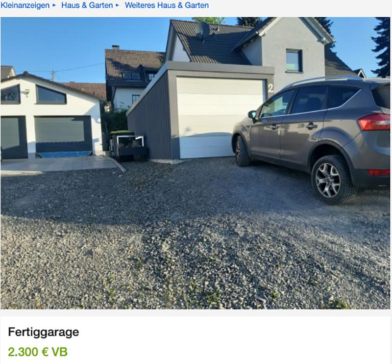 Garage Verkauf Ebay