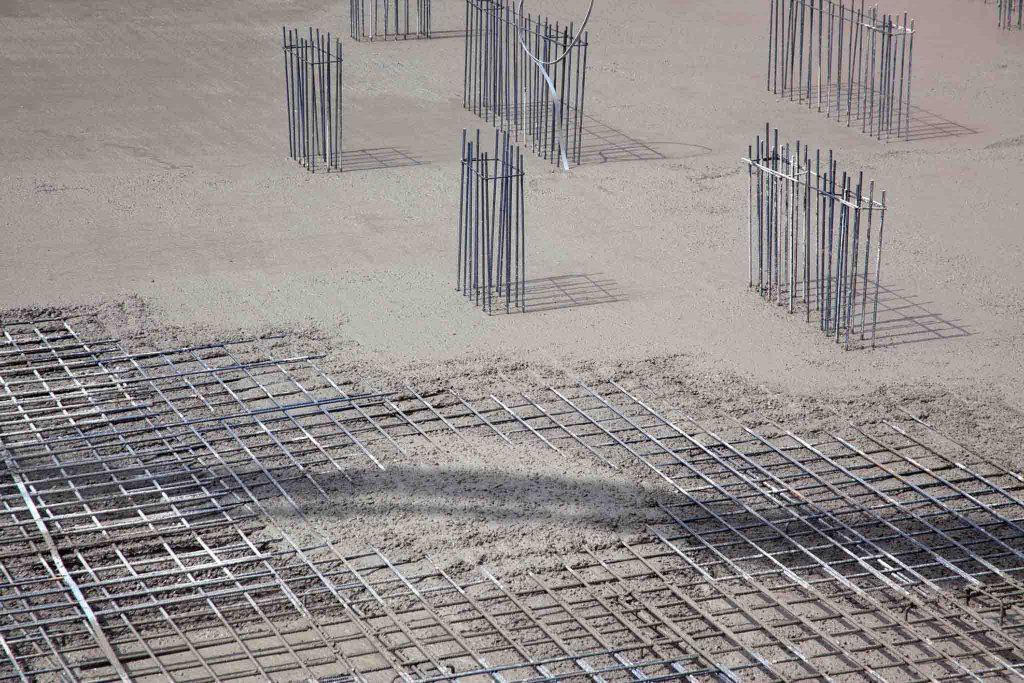 Beton oder Stahlgarage